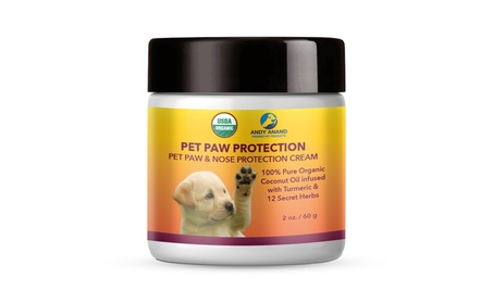 Andy Anand's Natural Organic Pet Paw Protection Cream - 2 oz.
