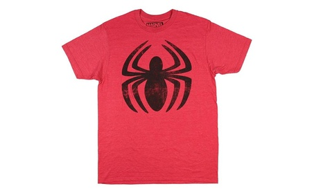 Spider-Man Spider Homecoming Logo Comic Book Superhero Red T-Shirt