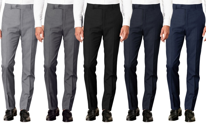 Up To 81% Off on Verno Men's Suit Separates 10... | Groupon Goods