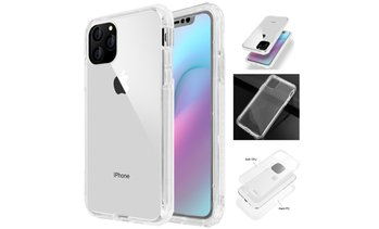 Full Cover Clear Case Shockproof Protective For iPhone 11/11 Pro/11 Pro Max