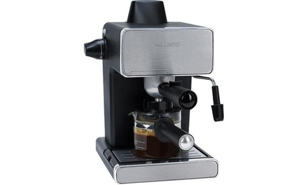 Coffee Maker Groupon : Mr. Coffee Steam Espresso and Cappuccino Maker Groupon
