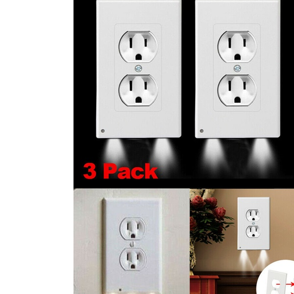 Up To 60 Off On 3 Pack Outlet Wall Plate Led Groupon Goods