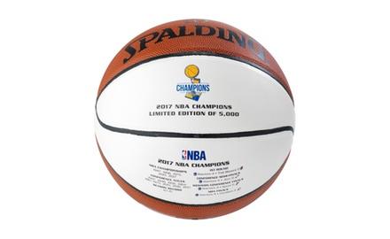 Warriors 2017 NBA Champions Basketball Limited Edition