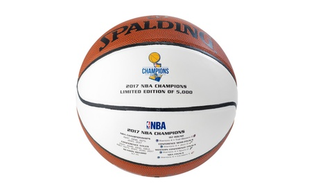 Warriors 2017 NBA Champions Basketball Limited Edition