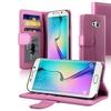 Insten Pink Wallet Leather Flip Case w/Stand For Samsung Galaxy S6Edge