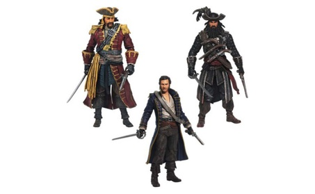 Assassin's Creed Golden Age of Piracy Figures 3-Pack 10c20c92-00e7-4031-bdcd-bb1262a1f7dd