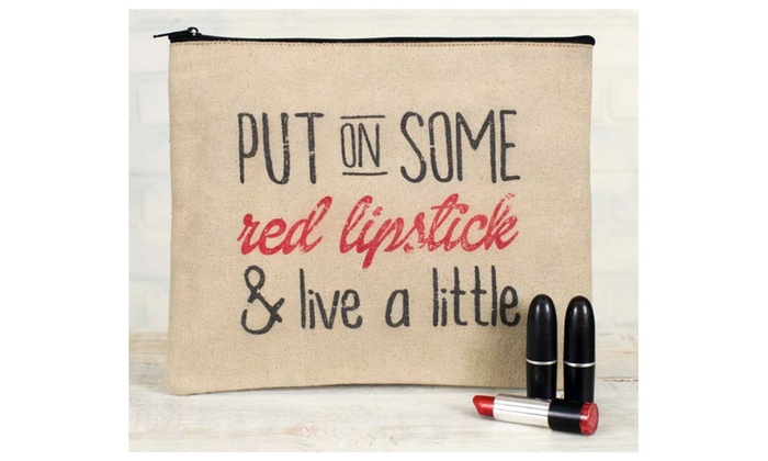 Lipstick Travel Pouch Bag