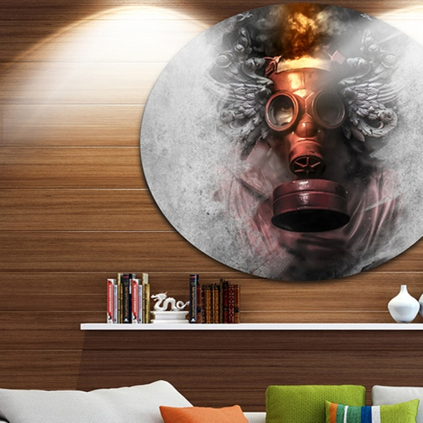 Up To 7 Off On Toxic Man In Mask Abstract P Groupon Goods