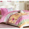 All American Collection New Childrens Pink Monkey Bedding Set