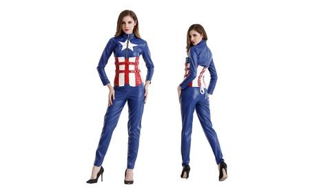 Women's Catsuit Superhero Comic Cosplay Jumpsuits Halloween Costumes