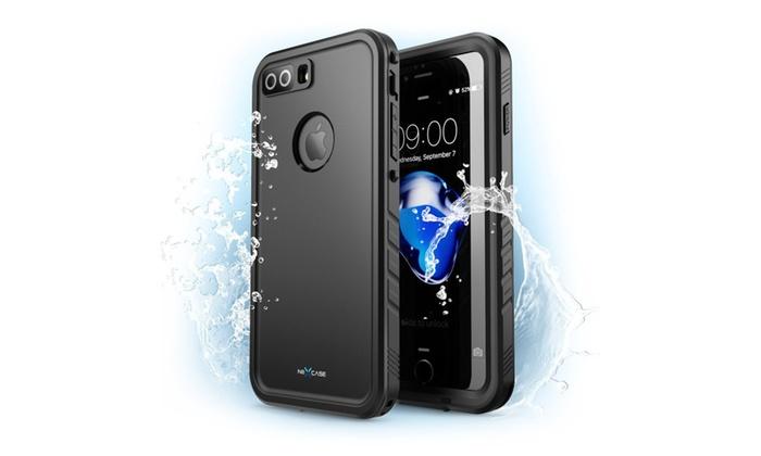online retailer b74b3 db2c1 iPhone 8 Plus Case,NexCase Waterproof Full-body Rugged Case   Groupon