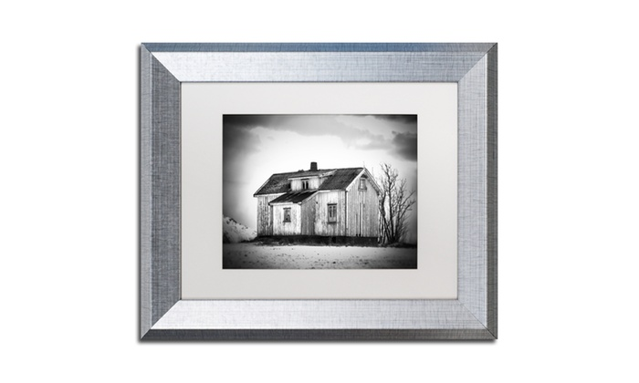 Groupon Goods: Philippe Sainte-Laudy 'Feels Like Home' Matted Silver Framed Art