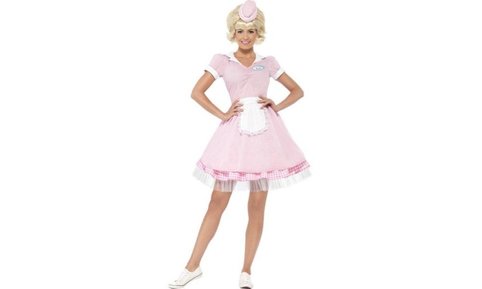 50's Diner Girl Adult Costume
