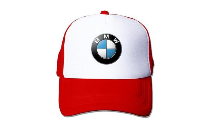 BMW Logo Mesh Cap Trucker Hat  8fd545944ed