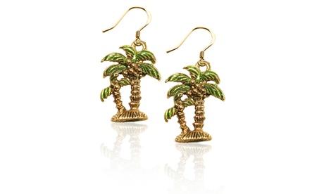 Palm Trees Charm Earrings 1860640c-02a8-4721-b525-6f9a549c6b51