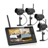 """Wireless Night Vision Home Security CCTV Camera Set with 7""""TFT LCD"""