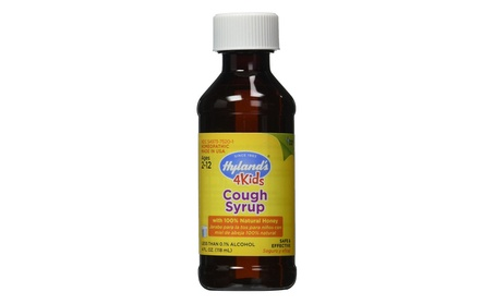 Hyland's Cough Syrup With 100% Natural Honey 4 Kids - 4 oz.
