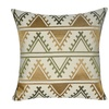 """Loom and Mill P0719-2222P - 22""""X22"""" Green Tucson Pillow"""