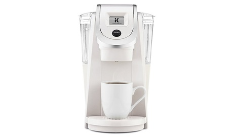 Keurig K250 Single Serve, K-Cup Pod Coffee Maker, Sandy Pearl 828ac0e4-48d1-4ffe-817e-a26cd81ba4b8