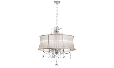 Polished Chrome Chandelier 7397136b-8e7d-45dd-b810-d3e7945462fc