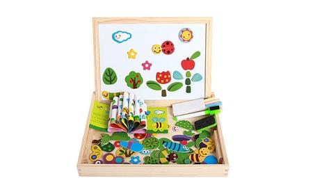 Educational Magnetic Puzzle Farm Jungle Animal Wooden Toys e6097b95-d667-4abb-b6c6-d55ec619e9fa