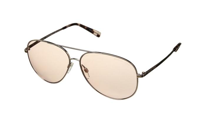 791ca13838ad Michael Kors Sunglasses Kendall II MK5016 102/65 Rose Gold Frames Pink Lens  60mm