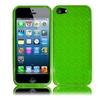 Insten For Apple Iphone Se 5 Tpu Gel Case Neon Green