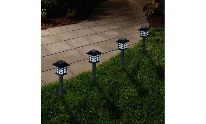 Pure garden outdoor lantern solar landscaping lights 6 pack groupon pure garden outdoor lantern solar landscaping lights 6 pack aloadofball Gallery