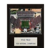"NCAA Football 12""x15"" Kyle Field Stadium Plaque"