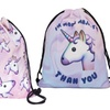 3D Printing Drawstring Backpack- Unicorn Novelty Designs