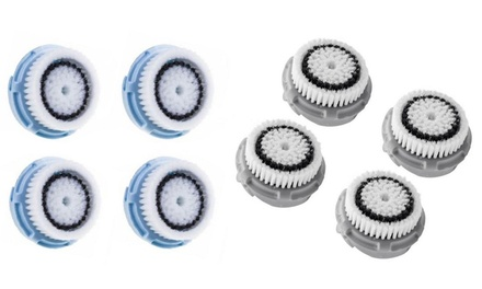 Replacement Facial Brush Head Set (4-Pack) Was: $29.95 Now: $9.95.
