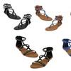 P26 Womens Roman Gladiator Sandals Flats Thongs