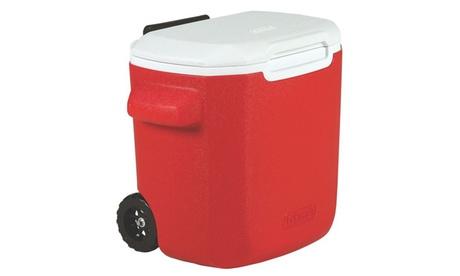 Coleman 28 Quart Wheeled Personal Cooler Red 3000003660 2a38225a-521a-4939-8b70-2223f821a9e3