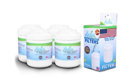 (4 Pack) GE MWFA Compatible Refrigerator Water and Ice Filter OPFG-RF3 photo