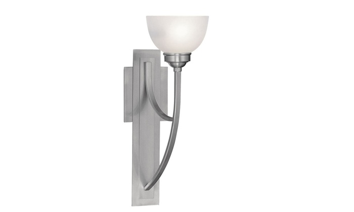 Somerset 1-Light Brushed Nickel Wall Sconce