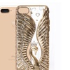 iphone 6/6S Plus case Shock Absorbing 3D pattern Crystal decoration