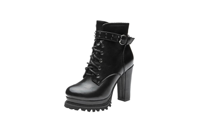 Women's Winter High Heel Casual Simple Fashion Boots Pumps