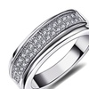Sparkling Cubic Zircon Stackable Wedding Women's Ring