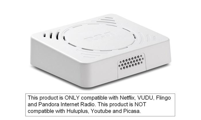 RCA Wi-Fi Netflix TV Streaming Media Player 1080p HDMI
