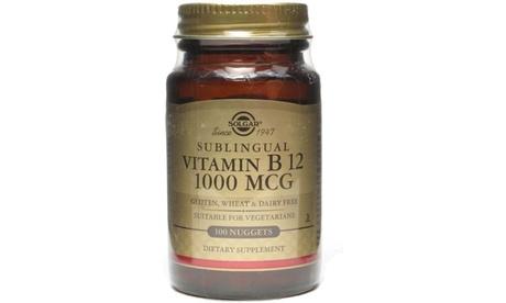 Solgar Sublingual Vitamin B12 1000 mcg