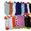 24 Pair Of Sockbin Ankle Socks Women Neon, Women Colorful Socks,Bulk