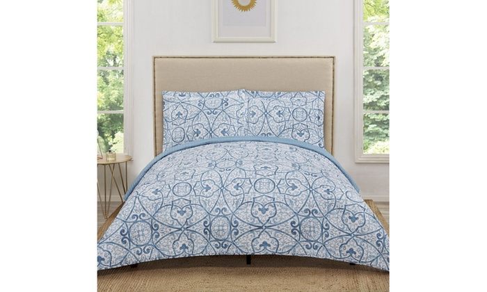 Truly Soft Marcello Blue Quilt Sets Livingsocial