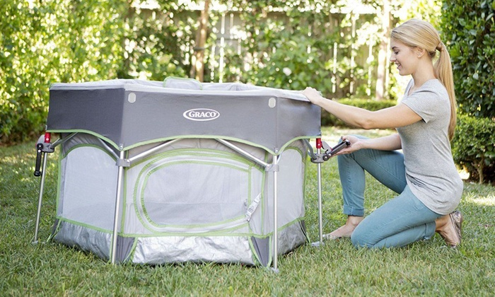 Graco Pack N Play Traveling Portable Outdoor Playard Sport Parkside