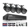 Refurbished SANNCE 8CH 960H HD DVR 4Pcs 720P Security System Cameras
