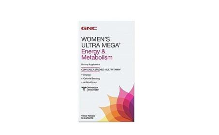 Vitamins Supplements Caplets Mega Energy Metabolism Women
