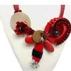 Designer handcrafted statement necklace