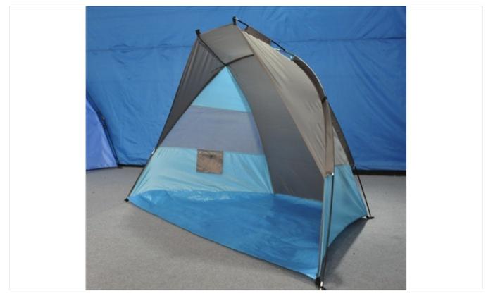 Portable Beach Tent Shelter Sun Shade Hiking Camping Waterproof Tent