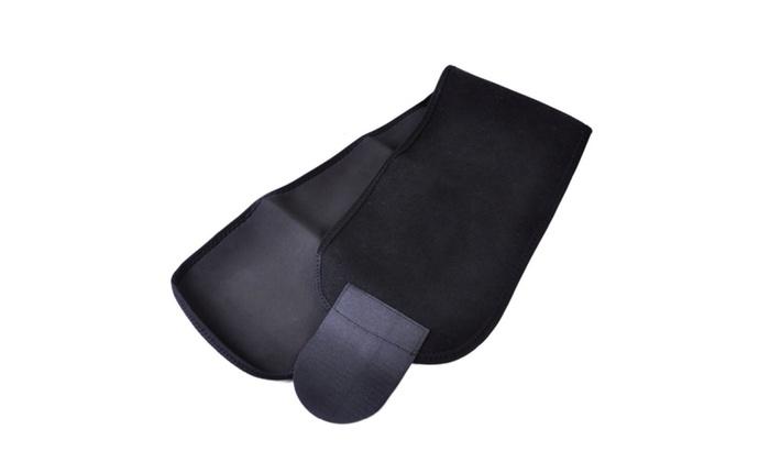 Neoprene Black Waist Tummy Trimmer Slimming Belt