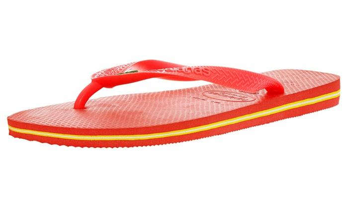 Havaianas Unisex Brasil Flip Flops