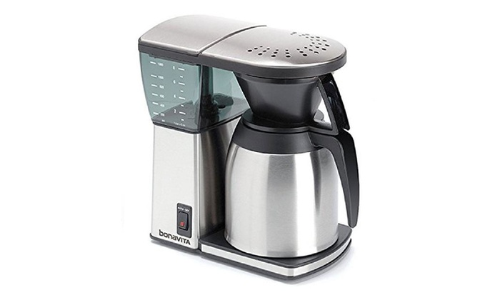 Coffee Maker Groupon : Bv1800ss 8 Cup Coffee Maker, Ss Lined Thermal Carafe Groupon